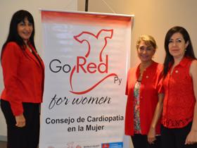 Dras. María Paniagua, Clotilde Cañete y Nancy Gómez
