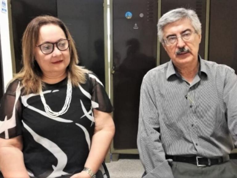 Dres. Mafalda Palacios y Jorge Tadeo Jiménez