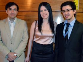 Dres. Horacio Paredes, Claudia Orué y Fernando Duarte