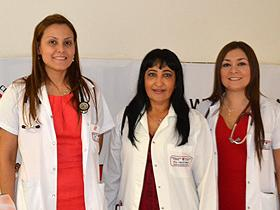 Dras. Laura García, María Paniagua y Judith Torales