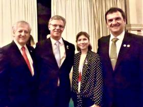 Dres. Arturo Alezzandrini, Ramon Galmarini, Sara Pozzi y Pablo Cibils